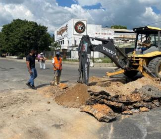 Alcaldía trabaja en las mejoras del sistema de drenaje