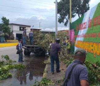 Alcaldía realizó más de 46 acciones de mantenimiento en Girardot