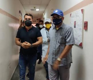 """Alcalde Rafael Morales visitó el CDI """"Los Cocos"""""""