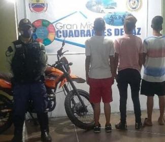 Policía de Girardot desarticuló banda dedicada al hurto de motos
