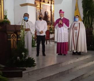 Alcalde Pedro Bastidas ofreció importantes anuncios durante el día del Santo Patrono San José