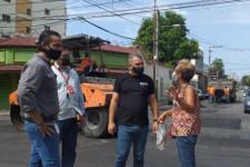 Alcaldía de Girardot continúa impulsando el Plan de Bacheo en la ciudad