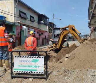 Alcaldía sustituye 130 metros lineales de colectores en La Coromoto
