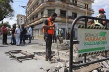 FOTOGALERÍA  l Alcalde Bastidas dio inicio a Abordaje Integral en la Av. Bermúdez