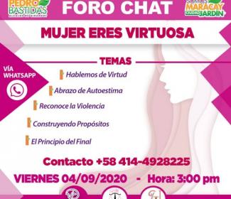 Alcaldía de Girardot realizará Tercer Foro Chat Gratuito