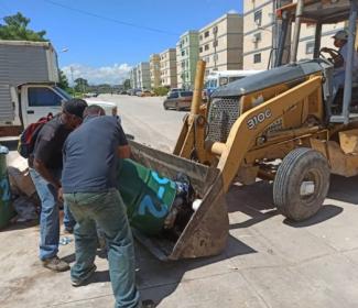 Alcaldía recolectó más de 1300 toneladas de desechos en 1 semana
