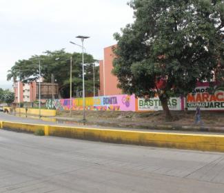 Alcaldía de Girardot promueve el arte urbano en la ciudad