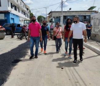 Alcaldía de Girardot realizó 47 reparaciones puntales de asfaltado en San Vicente