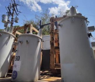 Alcalde Rafael Morales activó 20 nuevos transformadores en Girardot