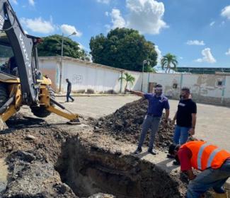 Alcaldía reemplazó 130 metros lineales de colectores en 2 parroquias