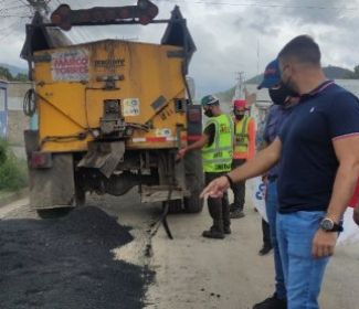 Más de 5 mil toneladas de asfaltado se han colocado en Girardot