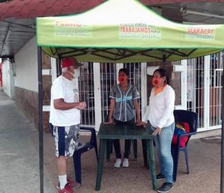 Alcaldía de Girardot desplegada en atención a las comunidades de Maracay